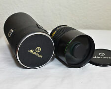 Makinon MC 500mm Reflex Lens f/8 Olympus Om, ND Filters, Superb Condition 1680
