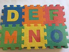 Preschool Alphabet Number Floor Exercise Mat 36 Pcs Foam Puzzle Educational Toys
