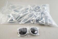 New Lot of 25 White Modelo Cerveza Promotional UV Protective Sunglasses ShpsFREE