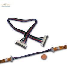 5 x Verbinder für 4poligen SMD LED Strip mit 15cm Kabel
