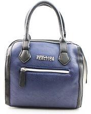 Kenneth Cole Reaction Handbag Shopper Blue Navy Purse Bag New  Authentic