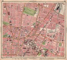 LIVERPOOL. Edgehill Kensington Gardens Royal Liverpool Uni Hospital 1928 map