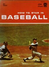 How to Star in Baseball - Softcover 1960 - Mickey Mantle New York Yankees Cover