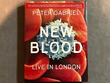 PETER GABRIEL - NEW BLOOD - LIVE IN LONDON 2011 1PR BLU-RAY DVD *FACTORY SEALED*