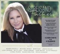 BARBRA STREISAND - 2 CD - PARTNERS