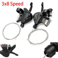 3x8 Speed Shift Lever Shifter trigger Bike Parts for Shimano Acera SL-M310 New