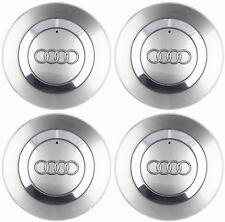 """4 New OEM Wheel Center Cap 8E0601165 For AUDI 02-06 Audi A4 B6 16"""" 5 Spoke Wheel"""