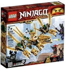 LEGO Ninjago The Golden Dragon 70666 - New - See Description