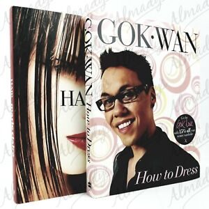 How to Dress by GOK WAN + Marie Claire Hair Fashion Books FREE POSTAGE Oz Seller