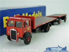 ALBION CX3 MODEL TRUCK LORRY 1:76 SCALE BRITISH ROAD SERVICES DA42 BASE B-T K8