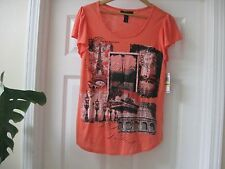 NWT 35.00$ Style &Co. Tee shop ,Orange Color  , Sz M