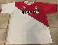 Captive Sport Large Soccer Jersey FEDCOM A.S Monaco #4 Tulsa Ok. Liga Premier (L