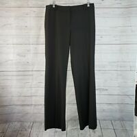 Ann Taylor LOFT Womens Julie Dress Pants Sz 6 Solid Black