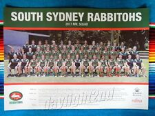 ✺New✺ 2017 SOUTH SYDNEY RABBITOHS NRL Poster - 42cm x 29.5cm