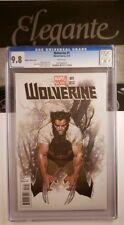 Wolverine (2013 Series) #1 CGC 9.8 Oliver Coipel Variant Marvel Return