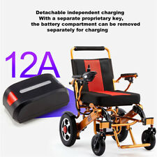 Folding Lightweight Old Elderly Disabled Wheelchair Electric Power Wheelchair