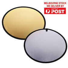 60cm 2-in-1 Round Portable Collapsible Photography Light Reflector for Studio