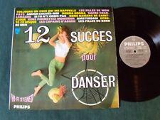 12 succès pour danser / F MONTEBELLO, J-C CASADESUS LP French PHILIPS 88.061 DY