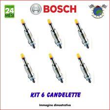 Kit 6 candelette Bosch BMW 3 E91 330 325 3 E90 335 3 E46