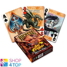 BICYCLE ANNE STOKES AGE OF DRAGONS PLAYING CARDS DECK FANTASY ART USA USPCC NEW