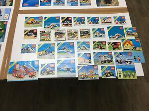 Lego LEGOLAND Anleitungen Konvolut Rar selten u.a. 6675 6522 6643 5354 6811 6360