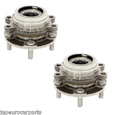 For NISSAN MURANO MAXIMA QUEST FRONT LEFT RIGHT WHEEL BEARING HUB FLANGE X2