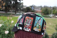 Cycling cap CARTAS DE VIDAS  one size 100% COTTON   handmade new