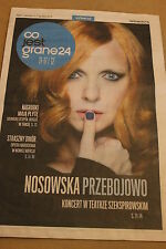 Co jest Grane - Katarzyna Nosowska - Polish magazine