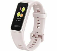 HUAWEI Fitness Band 4 Sakura Pink Universal Silicone Water Resistant - Currys