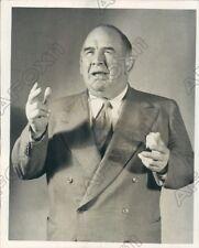 1951 Wrestling & WWE HOF Ed Strangler Lewis  Press Photo