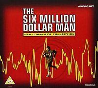6 SIX MILLION DOLLAR MAN COMPLETE SERIES 1 2 3 4 5 DVD BOX SET  Season 1-5 UK R2