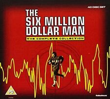 6 SIX MILLION DOLLAR MAN SERIES 1 - 5 DVD BOX SET Collection  Season 1 2 3 4 5