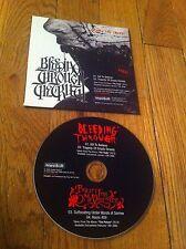 BLEEDING THROUGH / BULLET FOR MY VALENTINE 2 Band Promo Split CD Heavy Metal OOP