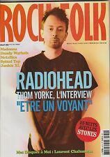 Rock & Folk N°431 juillet 2003  Radiohead Johnny Hallyday Rolling Stones...