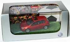 1:43 VW Golf V 2türig cuivre orange golf Goal - Volkswagen Dealer-Edition Schuco