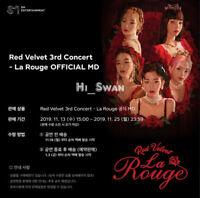 [Red Velvet] - Red Velvet 3rd Concert La Rouge OFFICIAL MD