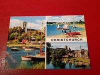 Christchurch - Vintage Postcard