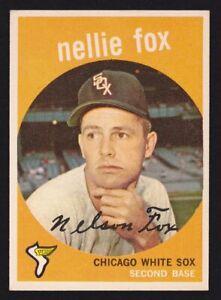1959 Topps #30 Nellie Fox