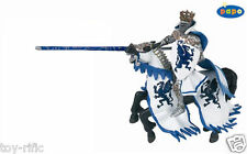 BLUE DRAGON KING KNIGHT & LANCE WITH HORSE BY PAPO. BRAND NEW WITH TAGS!!
