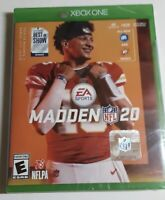 Madden NFL 20 Standard Edition Microsoft Xbox One, 2019 New Sealed Free Shipping
