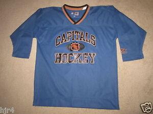 Jim Carey #30 Washington Capitals NHL Starter Hockey Jersey Youth L/XL 20