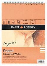 """Daler Rowney Ingres Pastel Pad - White Shades 9"""" x 6"""""""