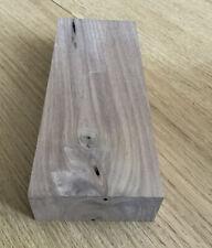 🌳Solid Walnut Hardwood Planed Timber Offcut 21.5 x 8.5 x 3.8cm Wood Crafts 447P