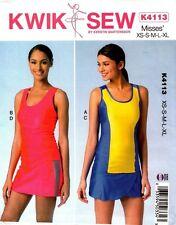 Kwik Sew Pattern K4113 4113 Misses' Tops and Skorts NEW