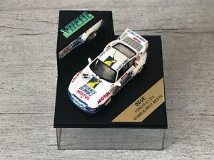 VITESSE 065E Porsche 911 GT2 Gitanes Blondes #86 B.P.R. Wollek Bouchut 1/43