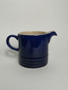 Le Creuset Cafe Creamer Milk Pitcher - Indigo Blue
