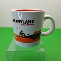 2012 Dunkin Donuts Mayland Limited Edition Destinations Coffee Mug DD