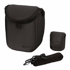 New! Official SONY Soft Carrying Camera Case Black LCS-BBF BC Japan Import!