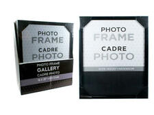"Gallery Photo Frame, Modern Decor Picture Frame, Black, 16""x20"""