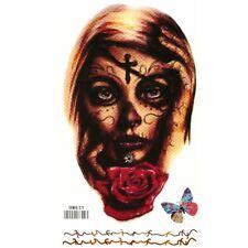 Temporäres Tattoo La Catrina Dia de Muertos Temporary Klebetattoo Körperkunst